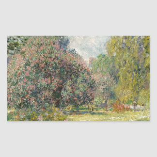 Landscape- The Parc Monceau - Claude Monet Sticker