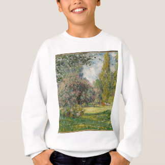 Landscape- The Parc Monceau - Claude Monet Sweatshirt