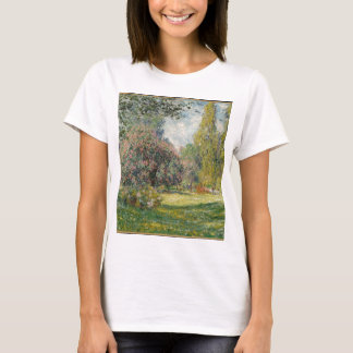 Landscape- The Parc Monceau - Claude Monet T-Shirt