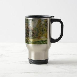 Landscape- The Parc Monceau - Claude Monet Travel Mug