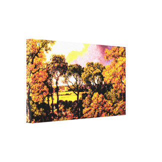Landscape - Thomas Gainsboroug Canvas Print