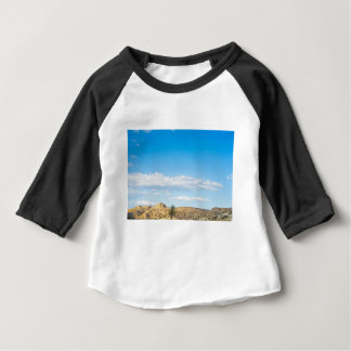 Landscape view to the mountain and sky baby T-Shirt