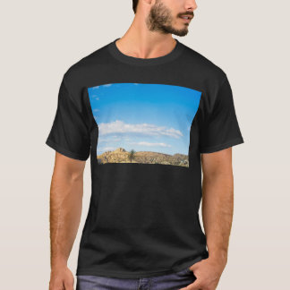 Landscape view to the mountain and sky T-Shirt