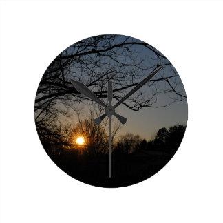 landscape wall clocks