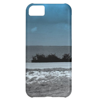 Landscape with a beautiful blue sky backdrop iPhone 5C cover