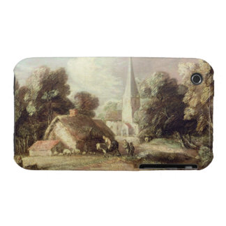 Landscape with a Church, Cottage, Villagers and An Case-Mate iPhone 3 Cases