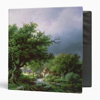 Landscape with a Mill Vinyl Binder