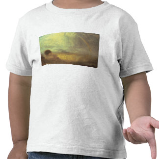 Landscape with a rainbow shirts