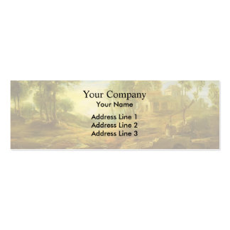 Landscape with a Watering Place by Peter Rubens Business Card