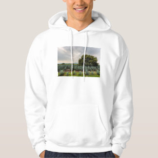 Landscape With Blue Agave Hoodie