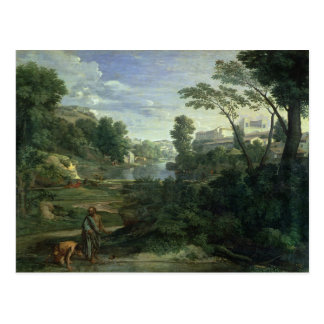 Landscape with Diogenes, 1648 Postcard