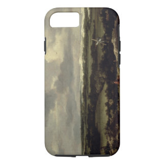 Landscape with Dunes near Haarlem (oil on canvas) iPhone 7 Case