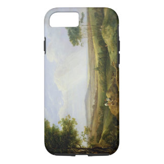 Landscape with Figures (oil on panel) iPhone 7 Case