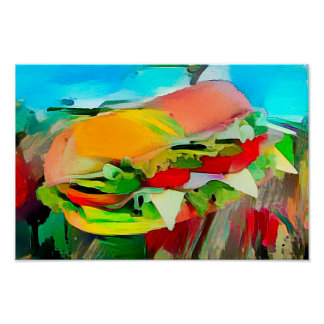 Landscape With Filled Roll - Art On Canvas Print
