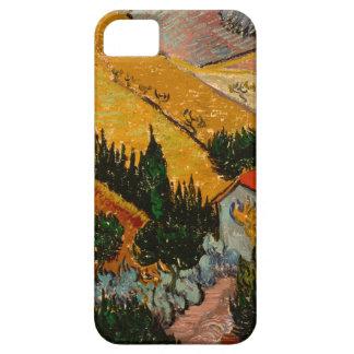 Landscape with House & Ploughman, Vincent Van Gogh Case For The iPhone 5