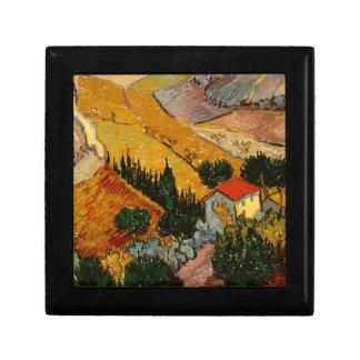 Landscape with House & Ploughman, Vincent Van Gogh Gift Box