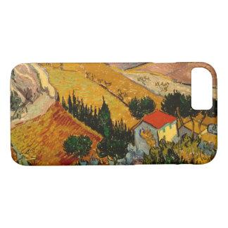 Landscape with House & Ploughman, Vincent Van Gogh iPhone 8/7 Case