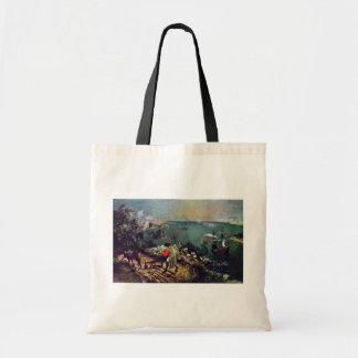 Landscape With The Fall Of Icarus By Bruegel D. Ä. Tote Bag