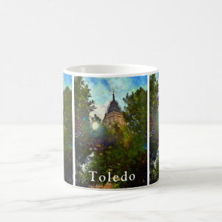 Landscape with the Tower of St. Mary's Cathedral Coffee Mug