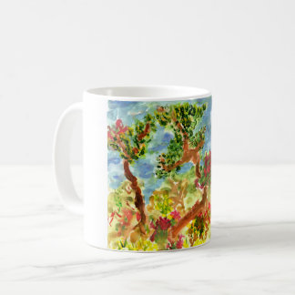 Landscape with wild trees #1 mug