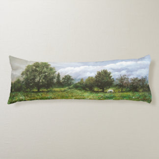 Landscapes of nature of Navarre Body Pillow