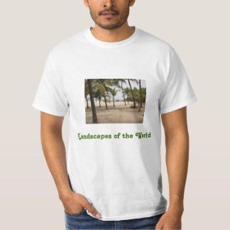 Landscapes of the World T-Shirt