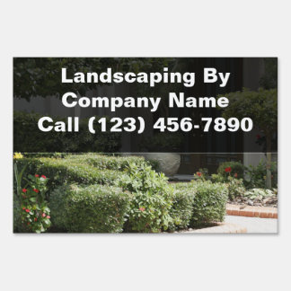 Landscaping Service Yard Signs
