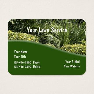 Landscaping Theme Modern Design Business Card