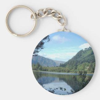 Landschaft, Glendalough Keychain