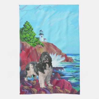 Landseer Newfoundland Kitchen towel