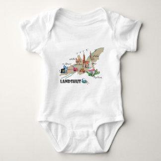 Landshut objects of interest baby bodysuit