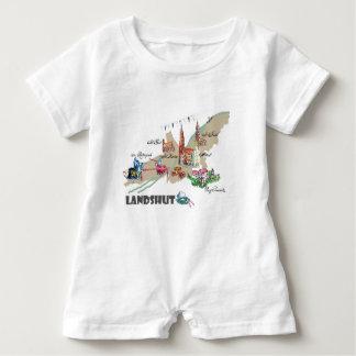 Landshut objects of interest baby romper