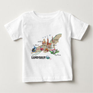 Landshut objects of interest baby T-Shirt