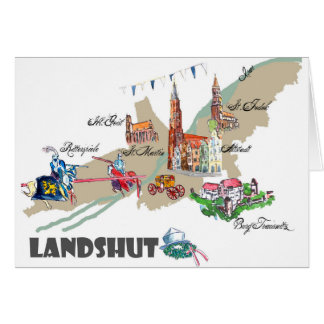 Landshut objects of interest card