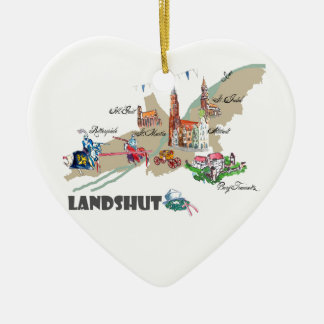 Landshut objects of interest ceramic ornament