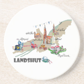Landshut objects of interest coaster