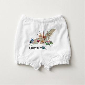 Landshut objects of interest diaper cover