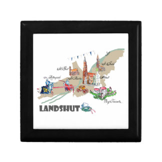 Landshut objects of interest gift box