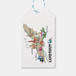 Landshut objects of interest gift tags