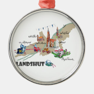 Landshut objects of interest metal ornament