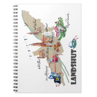 Landshut objects of interest notebooks