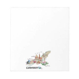 Landshut objects of interest notepad