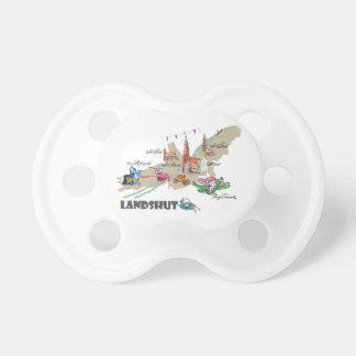 Landshut objects of interest pacifier