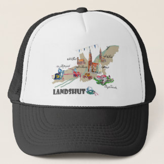 Landshut objects of interest trucker hat