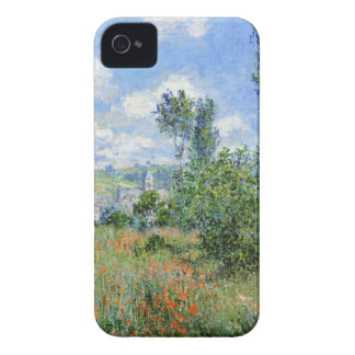 Lane in the Poppy Fields - Claude Monet iPhone 4 Cases