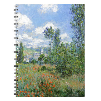 Lane in the Poppy Fields - Claude Monet Notebook