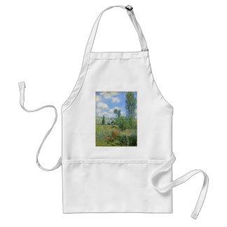 Lane in the Poppy Fields - Claude Monet Standard Apron