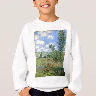 Lane in the Poppy Fields - Claude Monet Sweatshirt