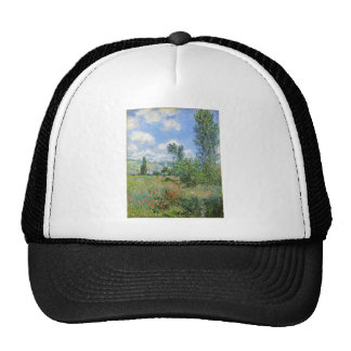 Lane in the Poppy Fields - Claude Monet Trucker Hat