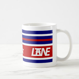 LANE (R,W,&B) COFFEE MUG